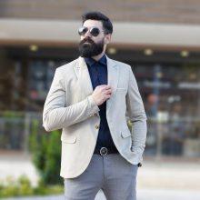 تک کت مردانه گندمی_کد۲۲۸۶
