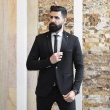تک کت مردانه مشکی_کد۲۴۶۰