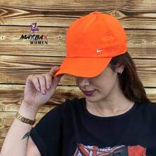 کلاه دخترانه آفتاب گیر نایک نارنجی