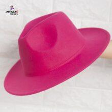 کلاه دخترانه خاخامی صورتی