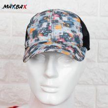 کلاه مردانه پشت توری طرح دار