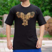 تیشرت مردانه طرح عقاب _کد ۳۲۰۶