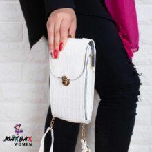 کیف دخترانه رو دوشی  کوچک طرح سنگی
