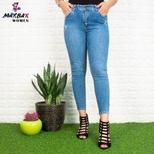 شلوار جین دخترانه آبی CLASSIC