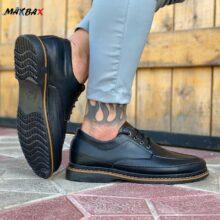 کفش مردانه مشکی_ کد ۳۴۹۱