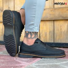 کفش مردانه مشکی_ کد ۳۴۹۰