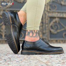 کفش مردانه مشکی _کد ۳۵۵۳