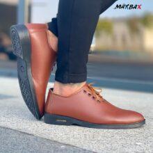 کفش مردانه ARMANI قهوه ای_کد ۳۶۰۱