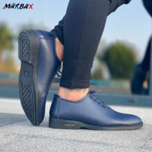 کفش مردانه ARMANI سرمه ای_کد ۳۶۰۲