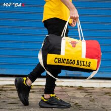 ساک ورزشی CHICAGO BULLS قرمز مشکی