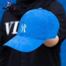 کلاه دخترانه آفتاب گیر آبی NY