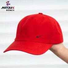 کلاه دخترانه آفتاب گیر نایک قرمز _کد۸۴۱