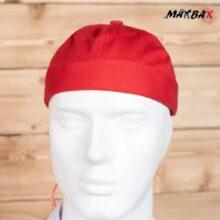 کلاه لئون OFF WHITE نواردار قرمز