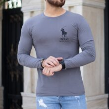 تیشرت مردانه آستین بلند Polo