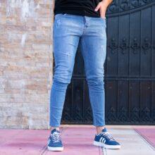 شلوار جین مردانه آبی TOMMY_کد ۳۸۸۹