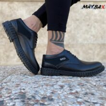 کفش مردانه مشکی MANGO_کد ۳۸۶۸