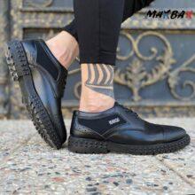 کفش طرح دار مشکی MANGO_کد ۳۸۷۰