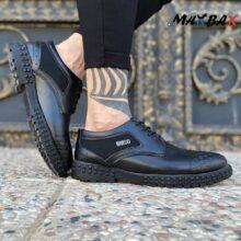 کفش طرح دار مشکی MANGO_کد ۳۸۶۹