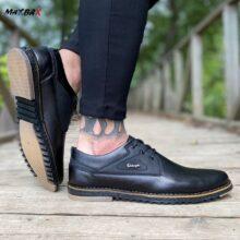 کفش مردانه مشکی _کد ۴۱۱۸