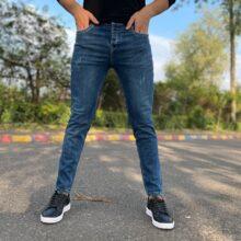 شلوار جین مردانه آبی VLONA_کد ۴۲۴۷
